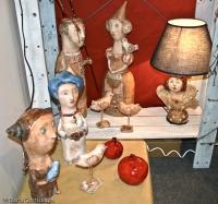 Глиняные фигурки
